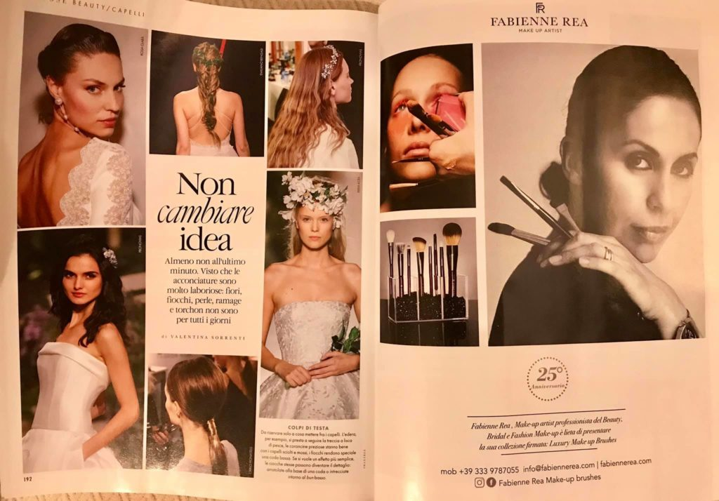 trucco sposa 2019 make up tendenze Fabienne Rea