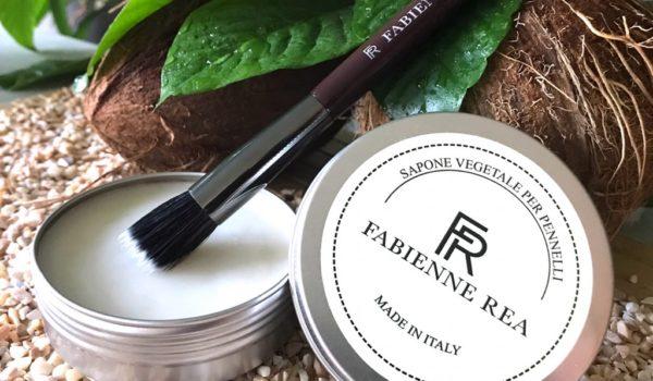 sapone per pulire pennelli fabienne rea
